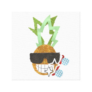 Cool Pineapple Canvas