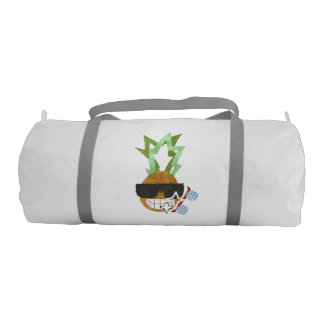 Cool Pineapple Duffle Gym Bag Gym Duffel Bag