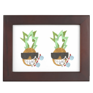 Cool Pineapple Keepsake Box