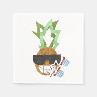 Cool Pineapple Napkins Disposable Napkin