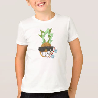 Cool Pineapple No Background Kid's T-Shirt