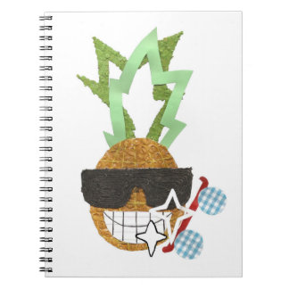 Cool Pineapple No Background Notebook