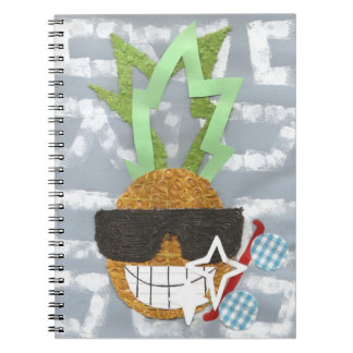 Cool Pineapple Notebook