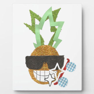 Cool Pineapple on an Easel Plaque