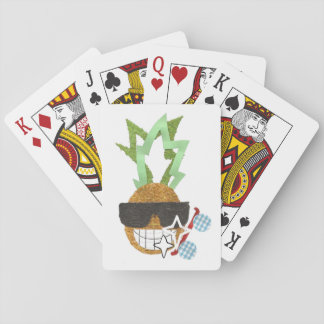 Cool Pineapple Playing Cards