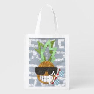 Cool Pineapple Reusable Bag