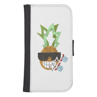 Cool Pineapple Samsung Galaxy S4 Wallet