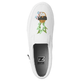 Cool Pineapple Slip On Shoes