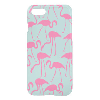 Cool Pink Flamingo Pattern iPhone 8/7 Case