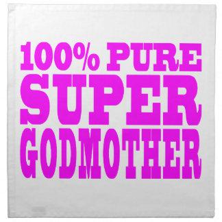 Cool Pink Gifts 4 Godmothers : Super Godmother Cloth Napkin