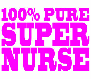 Cool Pink Gifts 4 Nurses 100 Pure Super Nurse Tote Bag