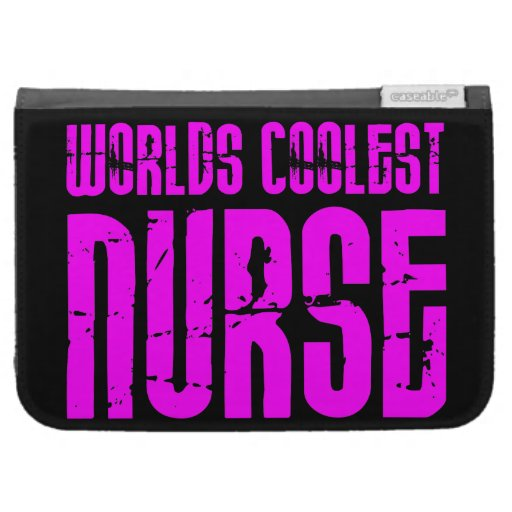 Cool Pink Gifts for Nurses : Worlds Coolest Nurse Kindle Keyboard Cases