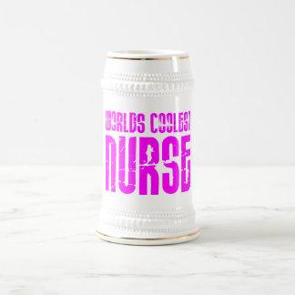 Cool Pink Gifts for Nurses : Worlds Coolest Nurse Mug