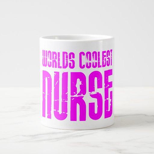 Cool Pink Gifts for Nurses : Worlds Coolest Nurse Jumbo Mugs