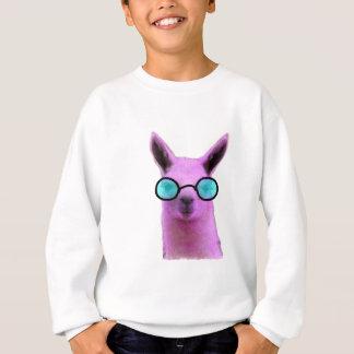 Cool Pink Llama! Sweatshirt