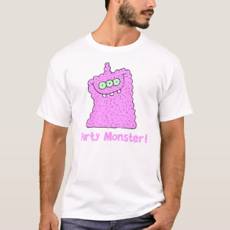 Cool Pink Party Monster T-Shirt