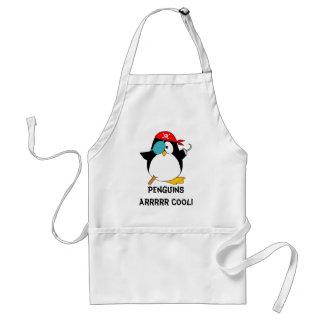 Cool Pirate Penguin Standard Apron