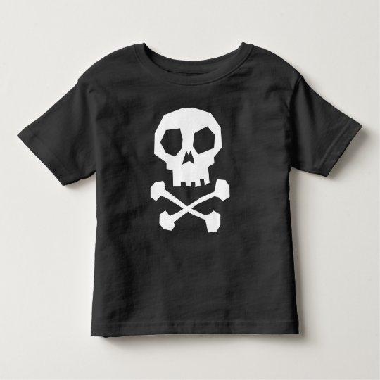 Cool Pirate Skull Toddler T-Shirt