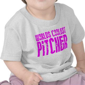 Cool Pitchers Pink : Worlds Coolest Pitcher T Shirts