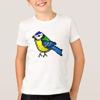 Cool pixel art bluetit T-Shirt