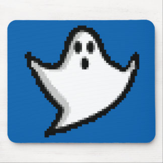 Cool Pixel Ghost Mouse Pad