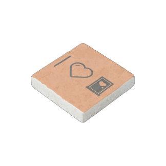 Cool Plastic Doors Stone Magnet