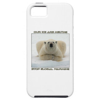 cool POLAR BEAR AND GLOBAL WARMING designs Case For The iPhone 5