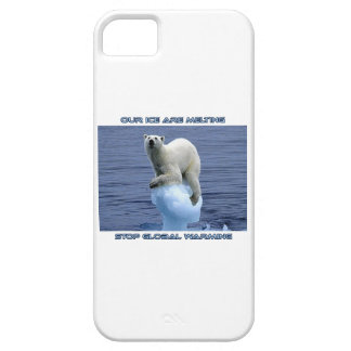 cool POLAR BEAR AND GLOBAL WARMING designs iPhone 5 Covers
