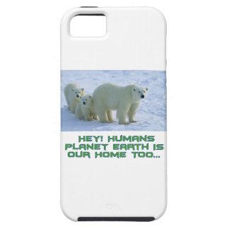 cool polar bear designs iPhone 5 case