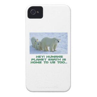 cool polar bear designs Case-Mate iPhone 4 cases