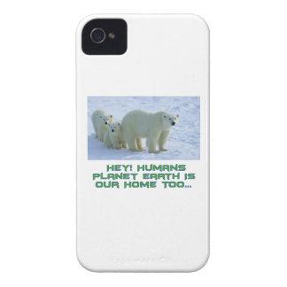 cool polar bear designs iPhone 4 cases