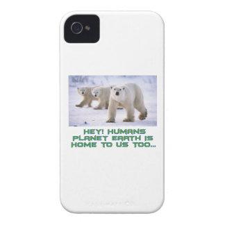 cool Polar Bear designs iPhone 4 Covers