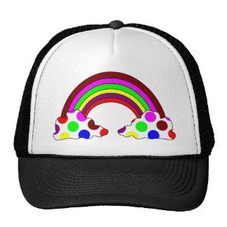 Cool Polka Dot Rainbow Hat