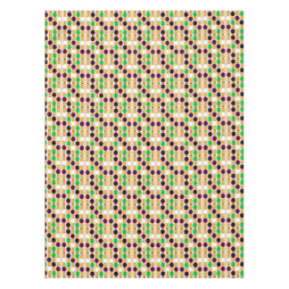 Cool  Polkas and Stripes Custom Cotton Tablecloth