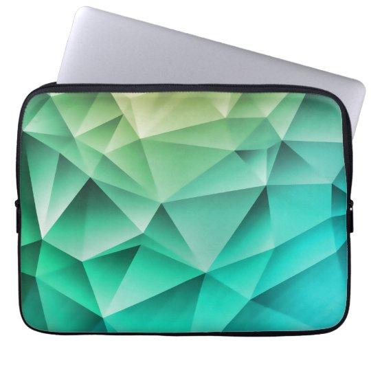 Cool Polygons Geometric Pattern Laptop Sleeve