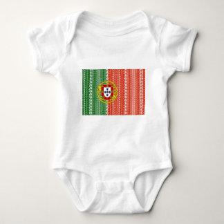 Cool Portugal Aztec flag Stylish pattern Baby Bodysuit
