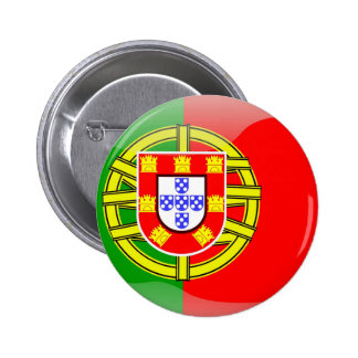 Cool Portugal Flag colourful Country Nationality 6 Cm Round Badge