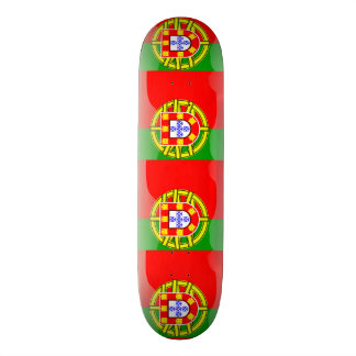 Cool Portugal Flag colourful Country Nationality f Custom Skateboard