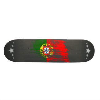 Cool Portuguese flag design 21.6 Cm Skateboard Deck