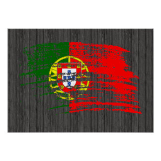 Cool Portuguese flag design Poster