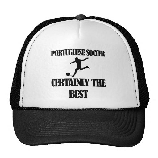 cool portuguese soccer designs trucker hats