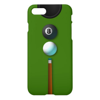 Cool Pot The 8 or Eight Ball Pool Billiards Glossy iPhone 7 Case