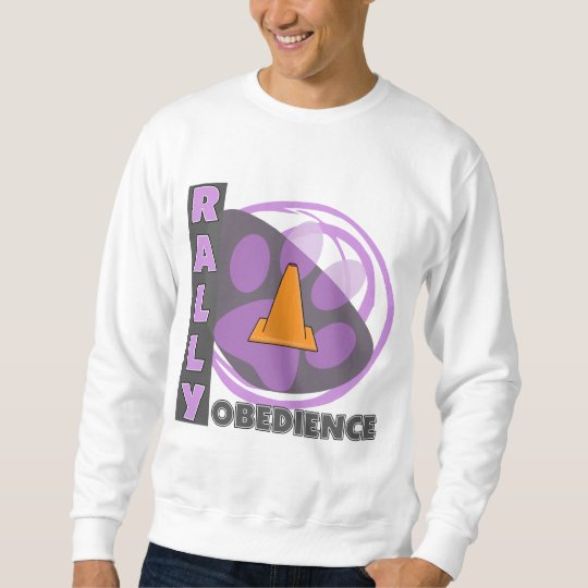 Cool Purple Rally Obedience Sweatshirt