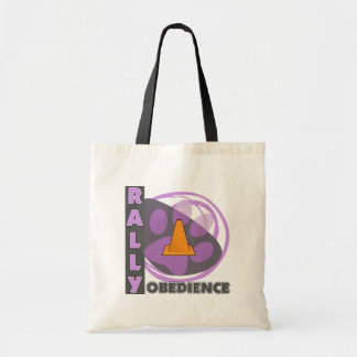 Cool Purple Rally Obedience Budget Tote Bag