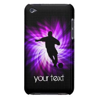 Cool Purple Soccer iPod Case-Mate Case