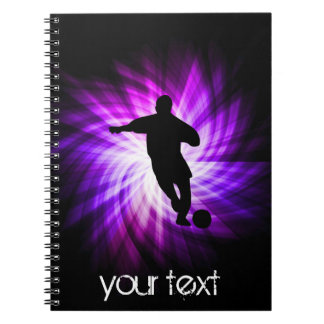Cool Purple Soccer Notebook