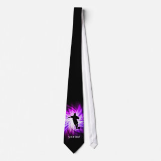 Cool Purple Soccer Tie