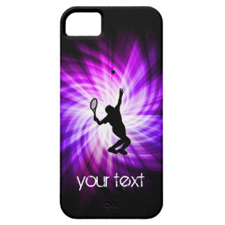 Cool Purple Tennis Barely There iPhone 5 Case
