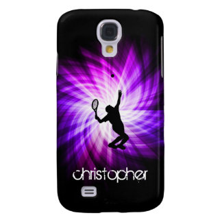 Cool Purple Tennis Galaxy S4 Case
