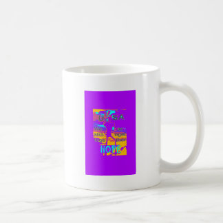 Cool Purple USA Hillary Hope We Are Stronger Toget Coffee Mug